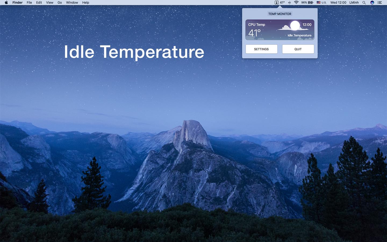 Temp Monitor for Mac 1.1.1 破解版 – 优秀的硬件温度监测工具-爱情守望者